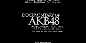 Documentary of AKB48 – No Flower Without Rain (VOSTFR)
